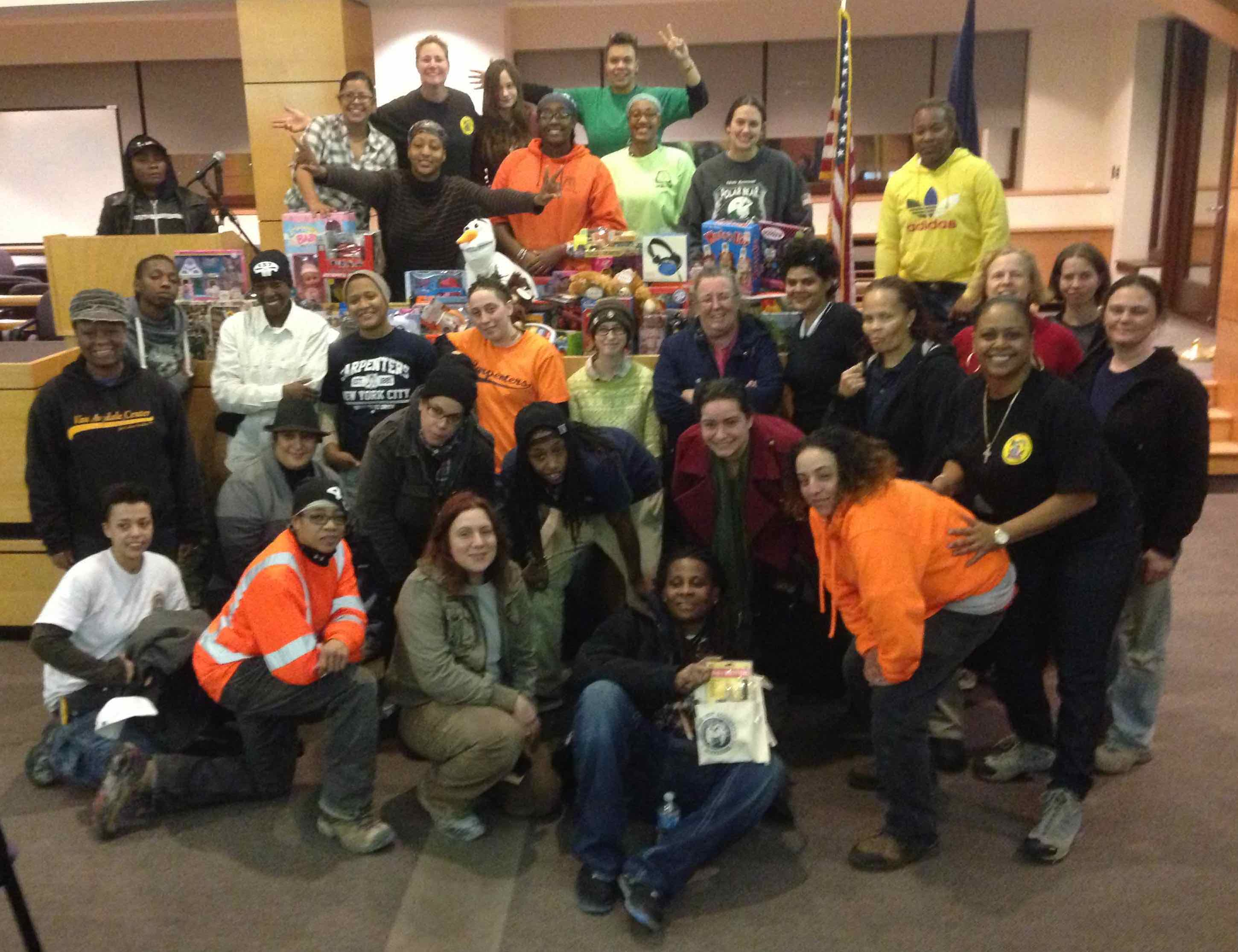 NYC SIBs Collect Toys for Tots - United Brotherhood of ...