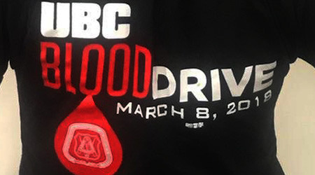 BLOOD DRIVE UBC
