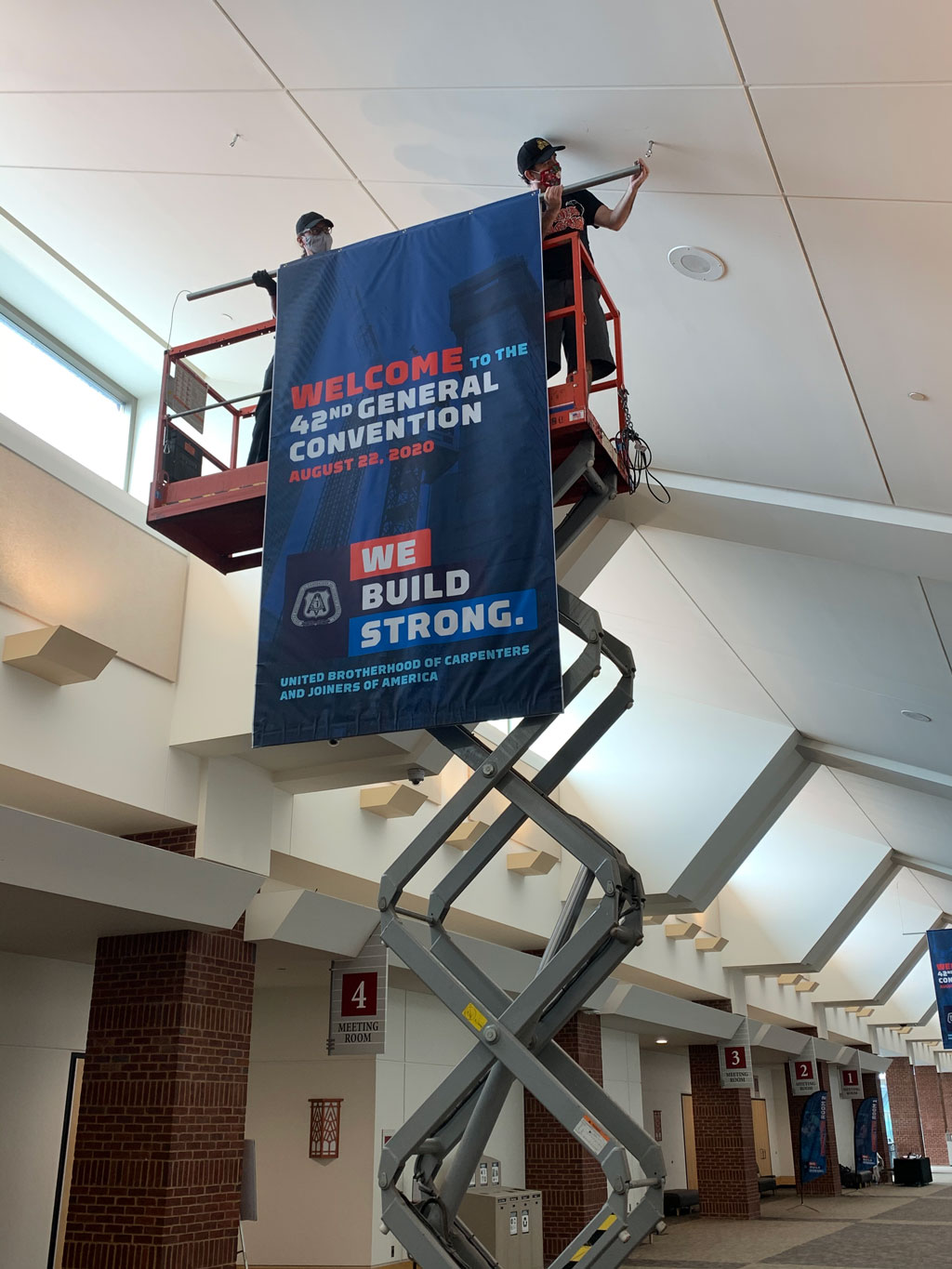 North Central Banner